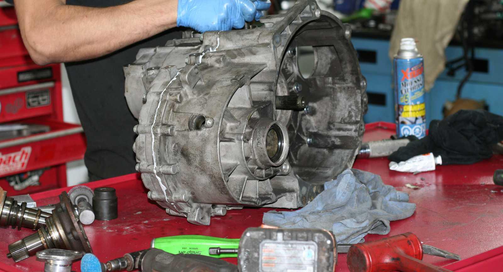 02M/02Q shift fork upgrade - OttoStadt MotorWerks